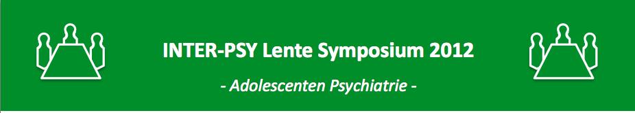 INTER-PSY Lente Symposium 2012