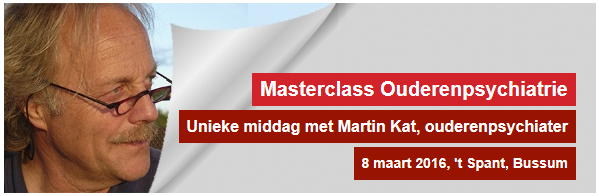 Masterclass Ouderenpsychatrie
