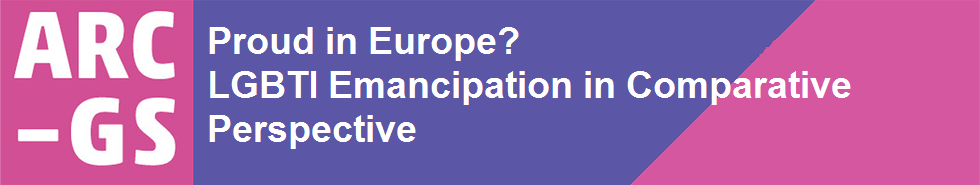 Proud in Europe? LGBTI Emancipation in Comparative Perspective
