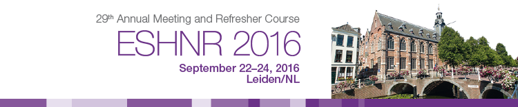 ESHNR 2016 Workshops