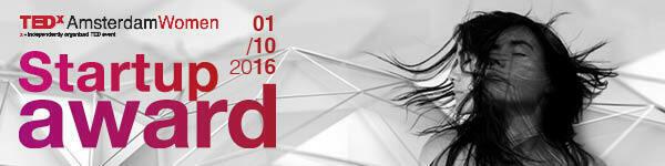 TEDxAmsterdamWoman - Startup award