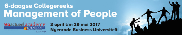 GEANNULEERD  Collegereeks Management of People