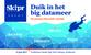 Duik in het big datameer