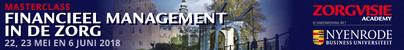 Masterclass Financieel management in de zorg | 22 mei 2018