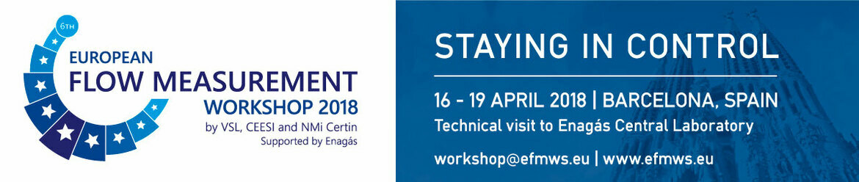 European Flow Measurement Workshop 2018