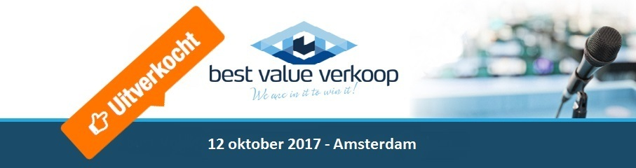 """Best Value verkoop seminar: """"Partnership bij aanbesteden, het kan wel!"""""""