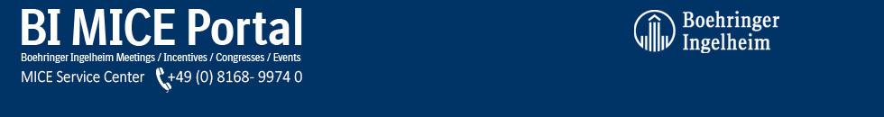Boehringer Ingelheim MICE Portal Termine