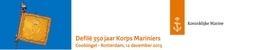 Defilé Korps Mariniers 350 jaar (Partners)