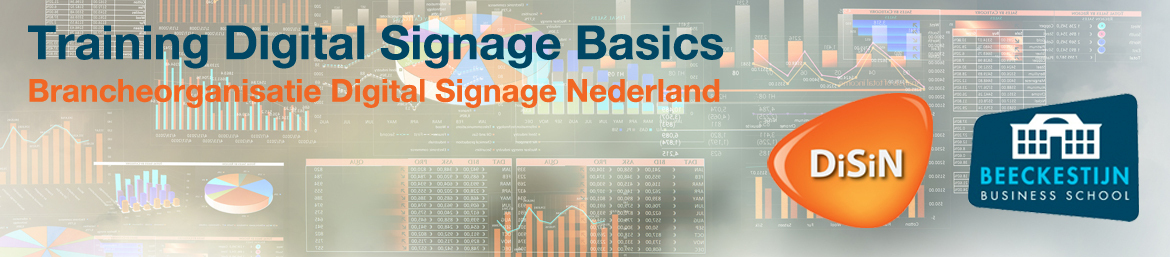 Cursus Digital Signage Basics