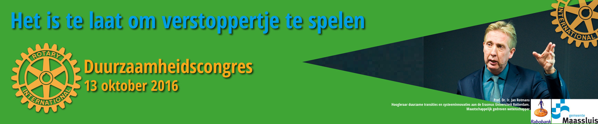 Rotary Duurzaamheidscongres 2016
