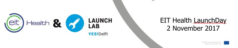 LaunchDay Eit Health 2017