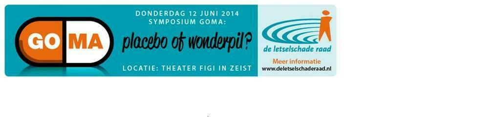 Symposium 'GOMA: placebo of wonderpil'