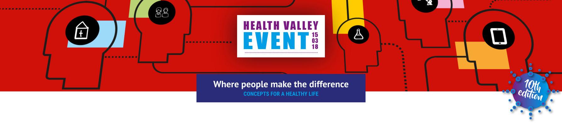 Health Valley Event 2018 - sponsoren