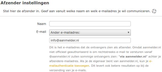 E-mailauthenticatie