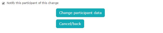Deregistering a participant
