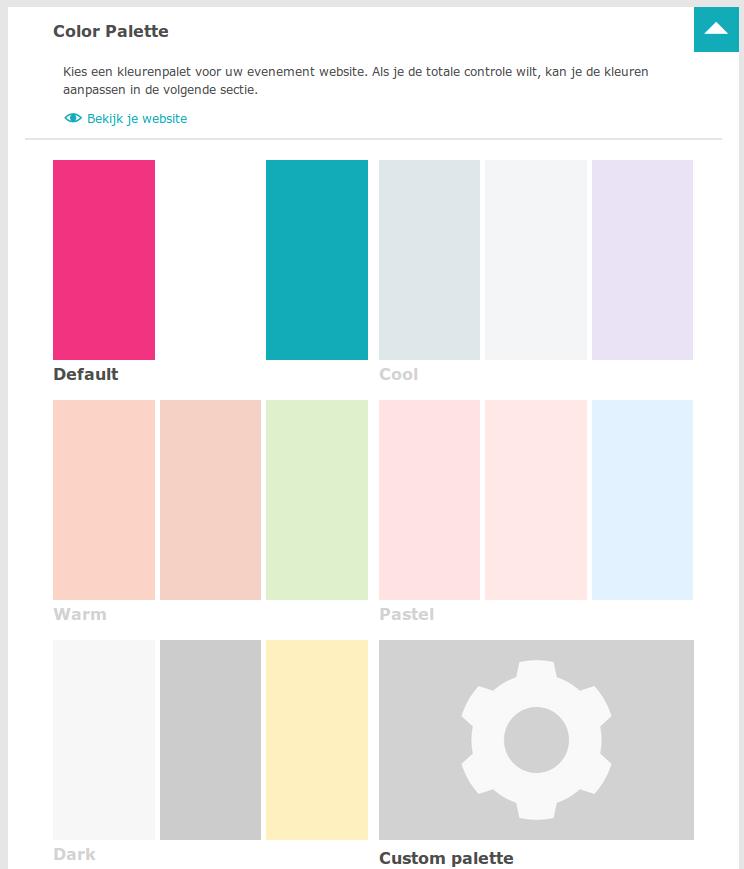 Stap 2. Kies een kleuren palette