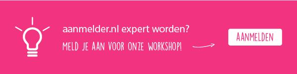 Vanaf nu ook aanmelder.nl workshops!