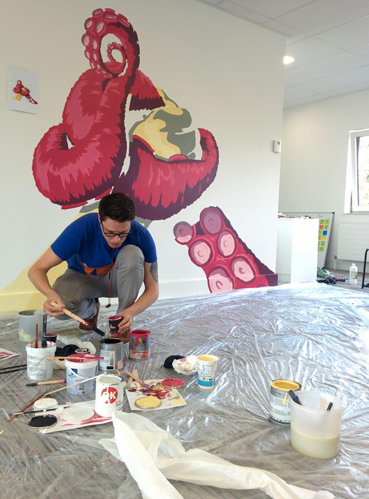 Het verhaal achter onze muurschildering