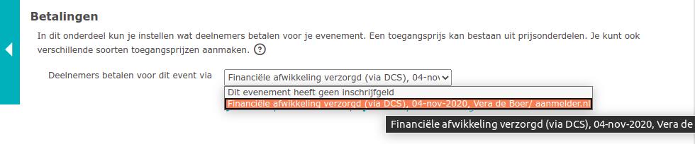 Betaalsysteem kiezen: DCS of OBP