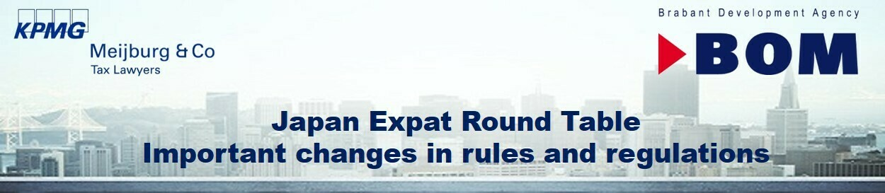 Japan Expat Round Table October 27 - Important changes in rules and regulations