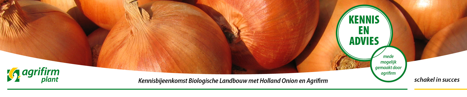 Kennisbijeenkomst Biologische Landbouw met Holland Onion