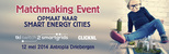 TKI Matchmaking Event Switch2SmartGrids