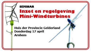 Inzet en Regelgeving Mini-Windturbines