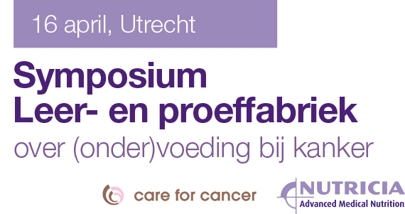 Leer- en Proeffabriek: symposium over (onder)voeding bij kanker