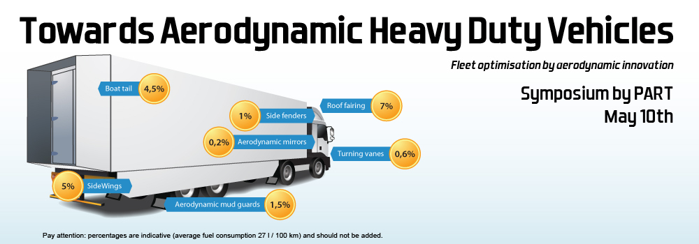 Towards Aerodynamic Heavy Duty Vehicles. Fleet Optimasation by Aerodynamic Innovation