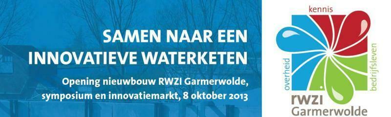 Opening nieuwbouw RWZI Garmerwolde, symposium & innovatiemarkt 8 oktober '13