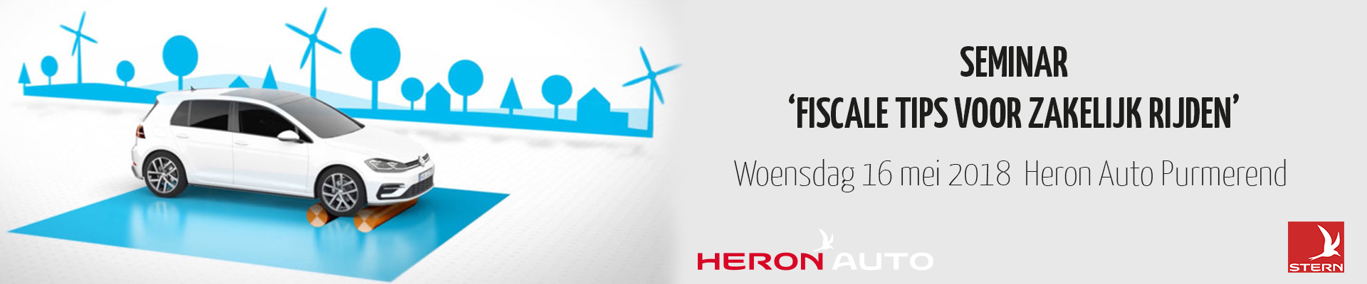 Seminar Heron Auto Fiscale tips voor zakelijk rijden