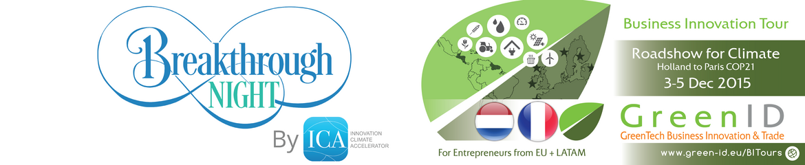 Startup Business Innovation Tour to COP21