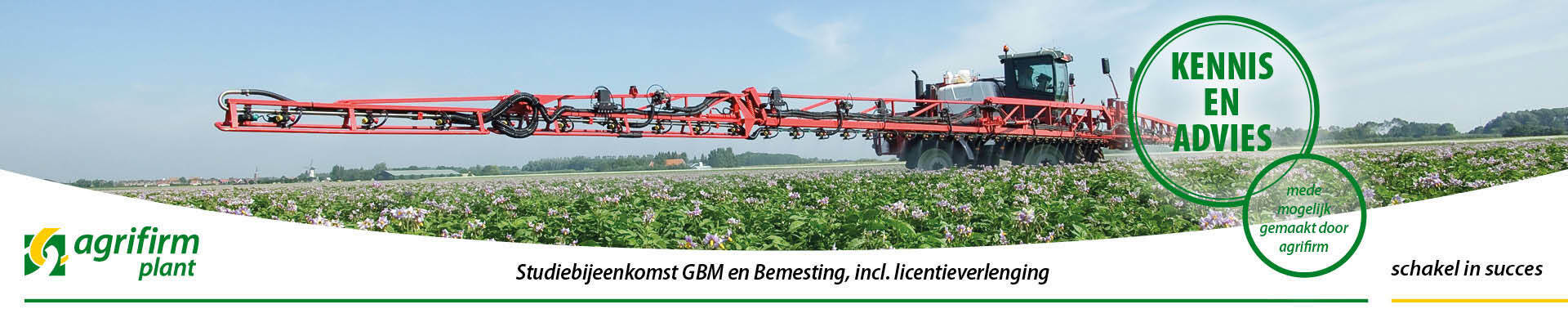 Studiebijeenkomst GBM en Bemesting incl. Licentie regio Oost