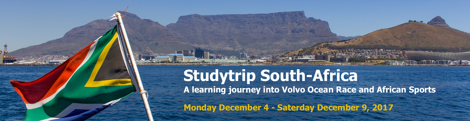 Studytrip South Africa 2017
