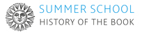 Summer School History of the Book 2017