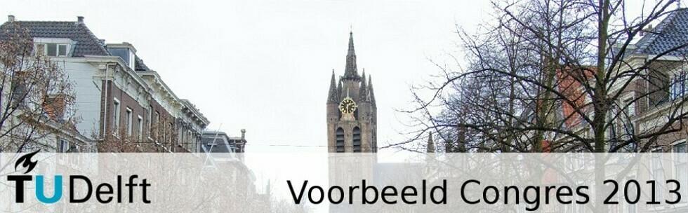 Voorbeeld Congres TU Delft