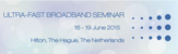 Ultra Fast Broadband Seminar: DSL Seminar evolved